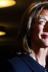 'Obscene' salary ... Sue Morphet.