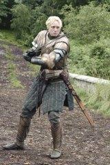Gwendoline Christie as Brienne.