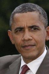 Slight edge: US president Barack Obama.