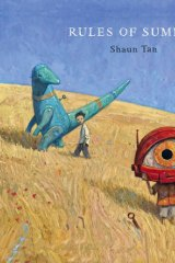 Comic absurdity: Rules of Summer, by Shaun Tan.