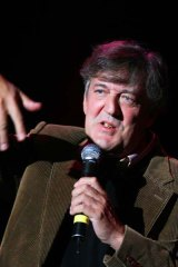 Stephen Fry's anecdotal digressions at the Regent Theatre covered many topics, including Oscar Wilde, the power of language and growing up at a boarding school in the UK. <i>Picture: Craig Sillitoe</i>