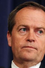 Standing by his comments: Bill Shorten.