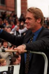 Collingwood legend: Peter Moore.