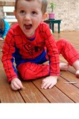 William Tyrell was last seen wearing his Spider-Man outfit.