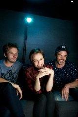 Three of the best: Jonathan auf der Heide, Alethea Jones and Damon Gameau.