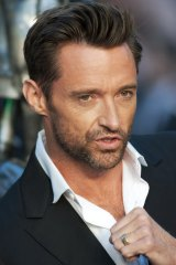 Australian actor Hugh Jackman attends the British premiere of Real Steel.