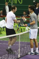 Too close to call: It was another tight tussle between the world's two best players.