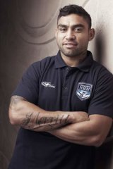 True Blue: Nathan Merritt is South Sydney's first NSW representative since Craig Wing four years ago.