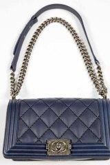 Prized possession: Chanel Boy bag.