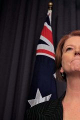 Stalemate ... Prime Minister Julia Gillard.