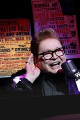Bert Newton stars as DJ Vince Fontaine in the new production of <i>Grease</i>.