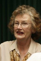Israel arrest… the former Greens MP Sylvia Hale.