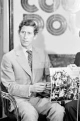 Just the two of us … with Prince Charles on <i>Countdown</i> in 1974.