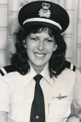 Deborah Lawrie, who became Ansett's first woman pilot with the support of then Premier Dick Hamer.
