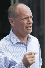 """Queensland Premier Campbell Newman: """"Let this government get on with taking the state forward economically."""""""