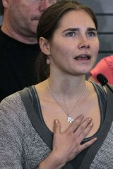 """""""I didn't kill""""... Amanda Knox did not travel to Italy to face court but instead sent a lengthy email claiming her innocence."""