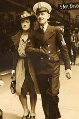 Mr Hardy's adoptive parents, Reginald and Elsie Cooper.