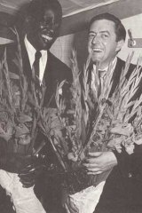 Bell with Big Bill Broonzy in 1951.