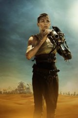 Take-no-prisoners action heroine Charlize Theron is the real star of <i>Fury Road</i>.