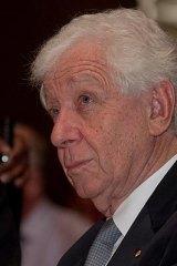 Westfield tycoon Frank Lowy.