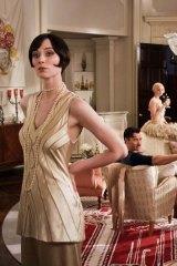 Homegrown talent: Elizabeth Debicki stars as Jordan Baker.