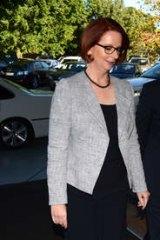 Sam I am … Sam Dastyari with Julia Gillard in May this year.