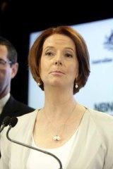 Timetable clash ... Julia Gillard.