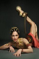 The temple dancer: Soloist Robyn Hendricks says she relishes the challenges of a grand classical ballet originally performed in 1877.