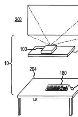 """Apple's patent for a """"desk-free computer""""."""