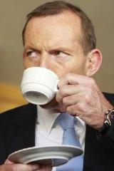 Accused ... Tony Abbott.
