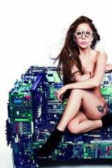 Unique: Lady Gaga has gone all Artpop..