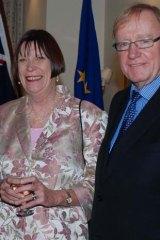 Husband and wife team: Lesley and Ian Macdonald.