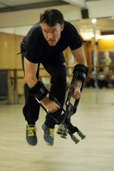 Terry Notary plays more than 100 primates in the film, and taught the actors and stuntmen how to move.
