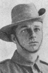 'So young and wistful': Private Percy Weakly.