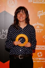 Winning yet again: A month after winning the Australian Music Prize, Courtney Barnett is named APRA songwriter of the year.
