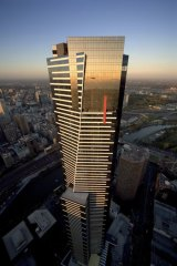 Bold views of Melbourne through the Gollings lens: Eureka Tower.