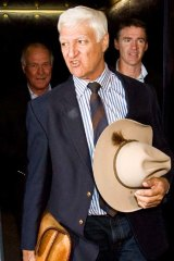 So far removed from city culture and orthodoxy ... Bob Katter.