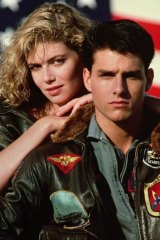 The fraught romance between Maverick and Charlie (Tom Cruise and Kelly McGillis) captivated audiences.