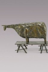 John Kelly's Dobell's <i>Cow on Trestles</i>, 1993.