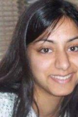 Victim ... Sadia  Sheikh.