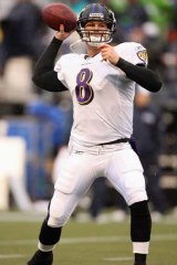 Cullen Finnerty in action for the Baltimore Ravens on December 23, 2007.