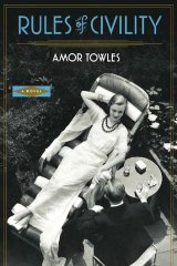 <i>Rules of Civility</i> by Amor Towles (Sceptre, $29.99).