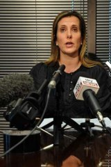 The Health Services Union's Kathy Jackson calls for HSU president Michael Williamson to resign.