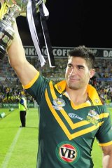 Stand-out ...  James Tamou.
