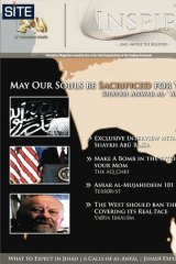 Online propaganda magazine in English called Inspire alledgedly launched by Al-Qaida.