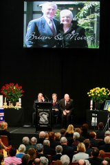 The memorial Service for Brian and Moiree Naylor.