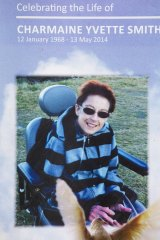 Charmaine Smith was in a wheelchair towards the end of her life