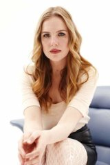 In character: Crowdfunding actor/director Victoria Thaine.