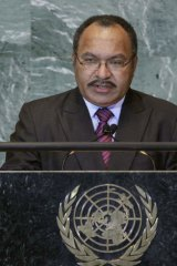 Allegations: PNG Prime Minister Peter O'Neill has been accused of graft.