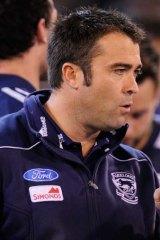 Geelong coach Chris Scott.